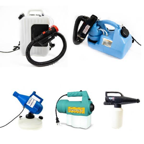 Disinfectant Foggers/Sprayers