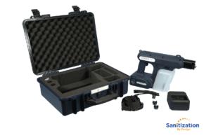 Sanique S-1 MKII electrostatic sprayer case
